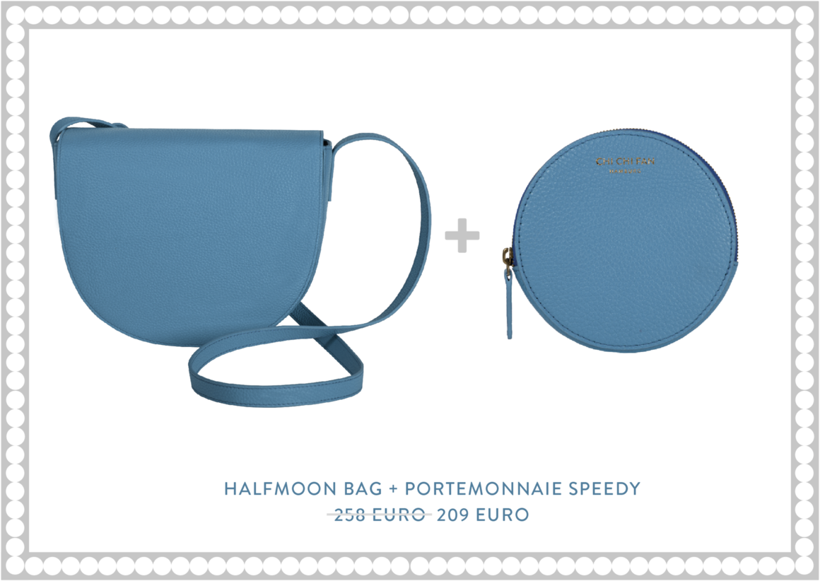 Halfmoon Bag + Portemonnaie Speedy